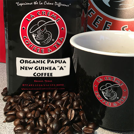 "Organic Papua New Guinea ""A"" Coffee"