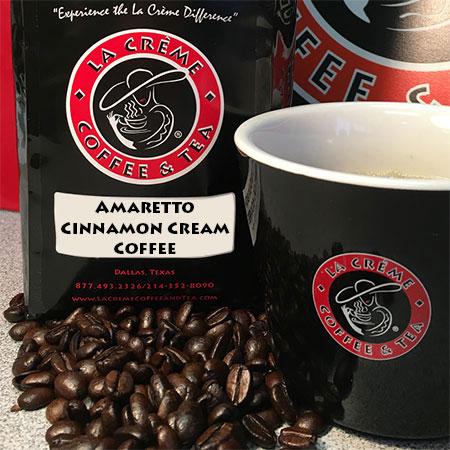 Amaretto Cinnamon Cream Coffee